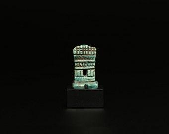 Ancient Egyptian Steatite Miniature Shrine