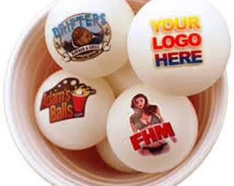 Personalized Pong Balls