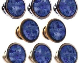 Blue drawer knobs | Etsy