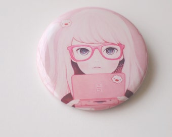 Gamegirl Girl can badge