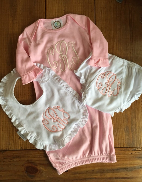 Baby Girl Personalized Gift Set!