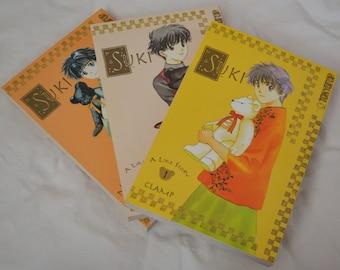 CLAMP Suki: A Like Story Complete Manga Set