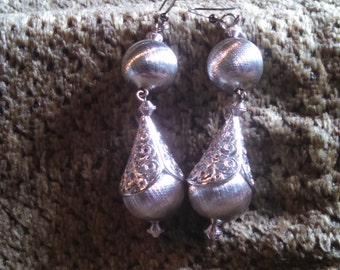 Silver Elegant Tear Drop earrings