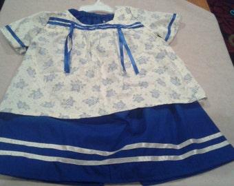 Children's Native American (Southwestern style) Ribbon Dress