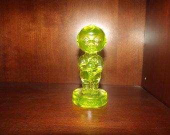 Vintage Vaseline Glass Kewpie Doll KNV