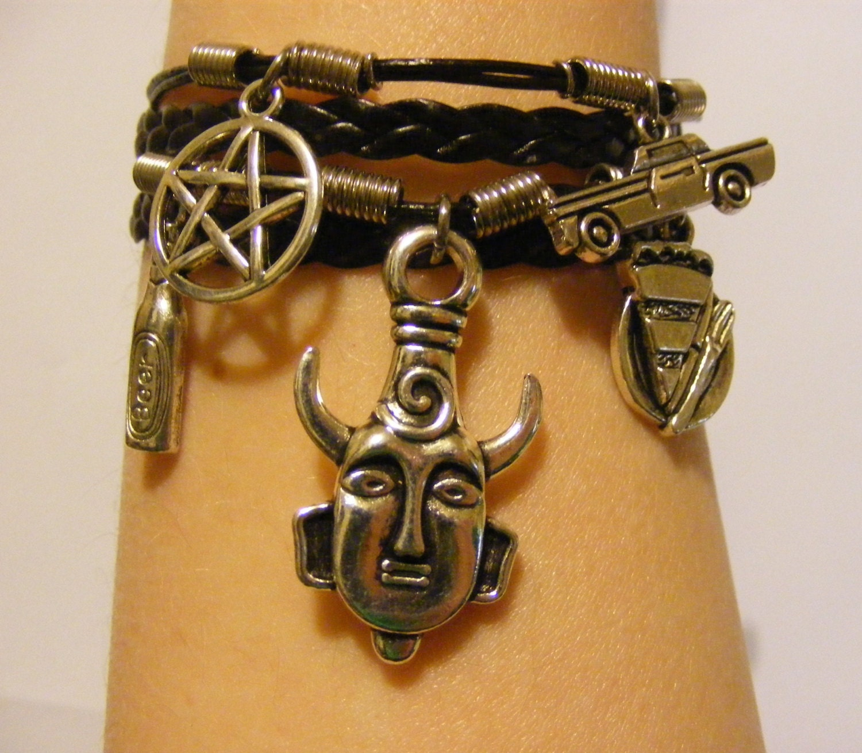 supernatural bracelet supernatural jewelry dean winchester