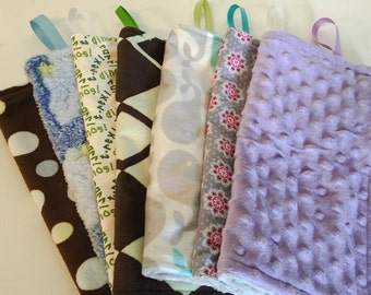 SALE LAST ONE Discontinued Patterns Paci Blanket