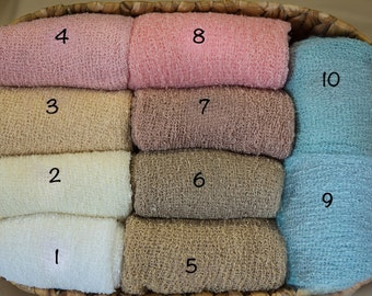 Newborn Stretch Wrap, Newborn Stretch Knit Wrap, Newborn Baby Photography Props, Newborn Wrap