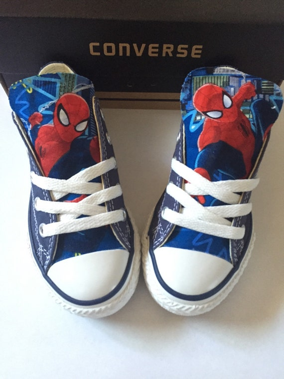 Spiderman Converse Shoes Kids Spider Man Shopwildrose