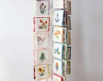 48 Pocket Greeting Card Display
