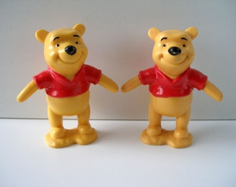 Two Disney Winnie the Pooh Cake Toppers