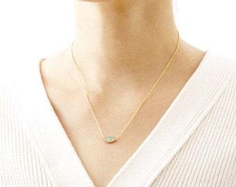 18k Gold Plated Evil Eye Necklace