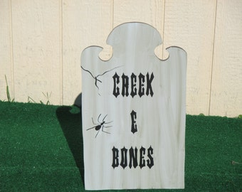 Tombstone Yard Sign