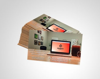 250 Magnetic Business Cards Elite collection