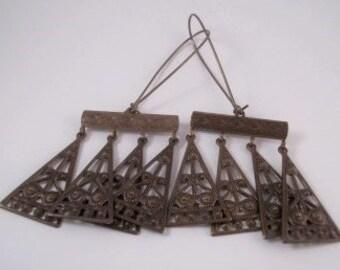 Etruscan Chandelier Earrings