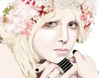 Courtney Love Portrait