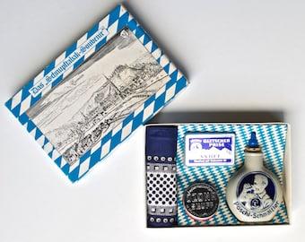 Vintage German Das ,,Schnupftabak Complete Souvenir Kit Exclusive Snuff Set