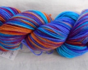Handdyed Pure Wool 4ply Yarn CC15/250