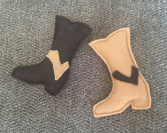 Cowboy Boot Catnip Cat Toy - Western Cowboy Boot Cat Toy Organic