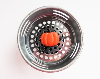 Sink Strainer, Decorative Kitchen, Sink Drain, Drain Plug, Pumpkin, Fall Decor, Thanksgiving Decor, Pumpkin Decor
