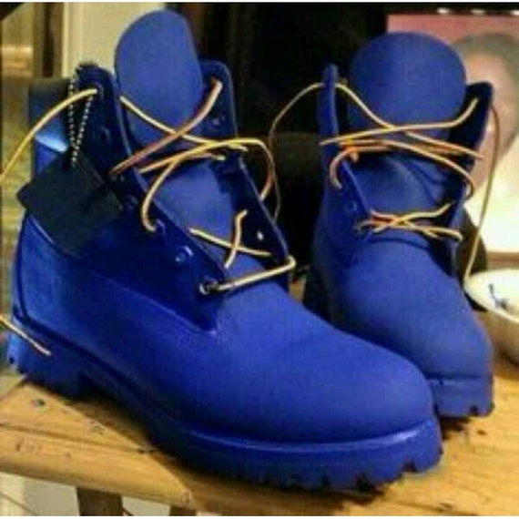 Custom Colored Timberland Boots All Sizes by RosaCreativeSoul