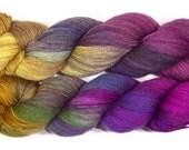 Happy Fuzzy Yarn Corrie Sock