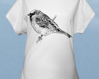 Sparrow women t-shirt