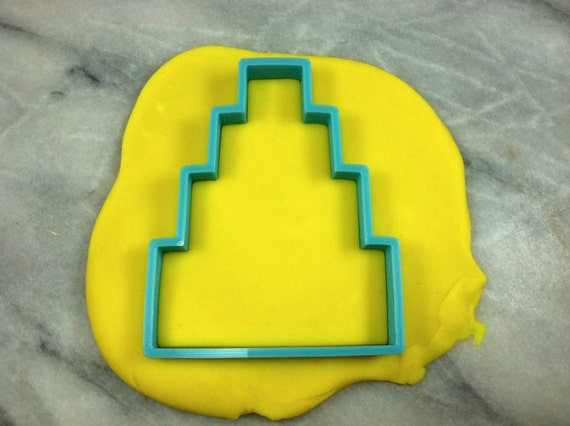 3 tier wedding cake cookie cutter wedding cake cookie cutter tier 4 outline by 10278