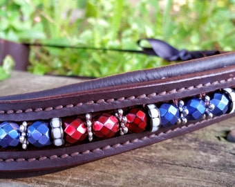 Special Order red white blue browband