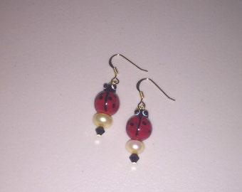 Cute Ladybug Earrings