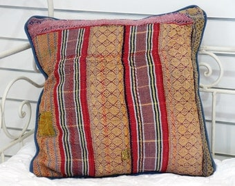 Vintage kantha Cushion