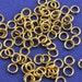 100 pcs- 5mm 20g Gold Plate Jump Rings, Gold Jumpring, Open Jump Ring- GP-B16977-8S