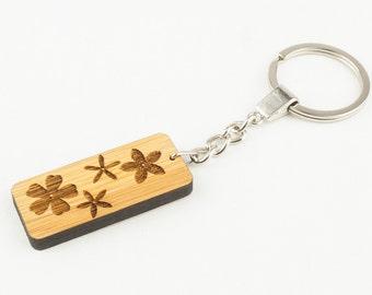 Daisy Bamboo Keyring - Keychain
