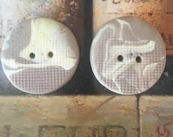 Craft supplies, Chanky Buttons,Big Buttons, Polimer clay Buttons, Large Buttons, Hand Made Buttons , Rustic Buttons  Knitting, Felting