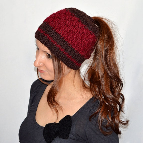Ponytail Hat Pattern Ponytail Hats Hat With Hole