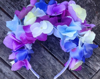 Sale - Rainbow Flower Crown