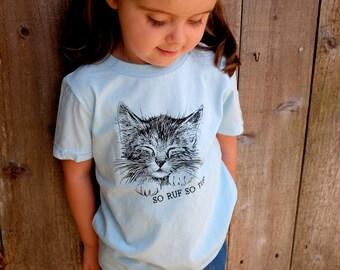 Kids Kitty Cat T-Shirt