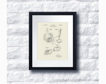Harley Davidson Poster Patent Art no.C3 Wall Art Print, Harley Davidson Home Decor, Harley Gift Idea, Gift for him, Gift for Biker