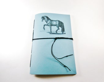 Horse Notebook,  Personalized Journal, Custom Notebook, Graph Paper Notebook, Lined Notebook, Grid Paper Notebook, Dot Grid Notebook