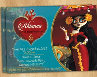 The Book Of Life Invitations