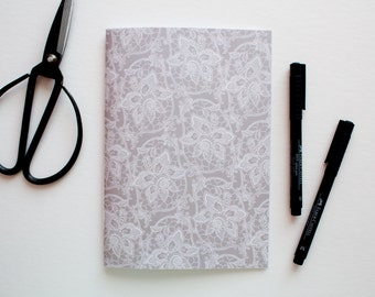 travel journal, writing journal, lace journal, sketchbook journal, prayer journal, paper journal, floral journal, cute notebooks, blank