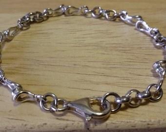 Bracelet in Silver 925, Italian.