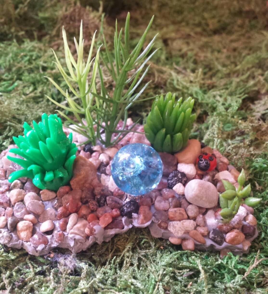 Fairy Garden Accessories Miniature Rock By Puppyloveminiature