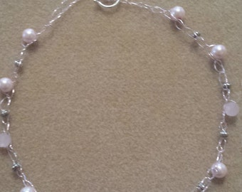 Crocheted (wire) Choker Necklace