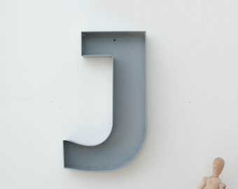 wall decor metal letters wall hanging letters s by metalya. Black Bedroom Furniture Sets. Home Design Ideas
