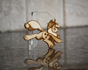 Mini Wood Laser Cut - NekoCrispy's Applejack