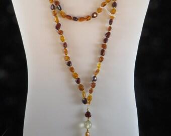 Leo/Sun Mala or Prayer Beads
