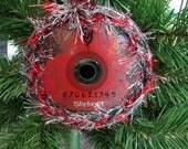 Slipknot Upcycled CD Ornament Heavy Metal Christmas #2