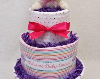Bunny Diaper Cake