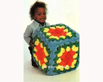 Crochet Pouf Pattern Etsy